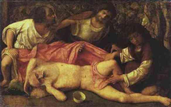 1500-1515_Giovanni_Bellini_Drunken_Noah