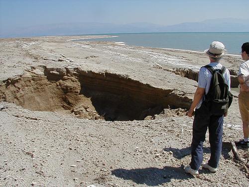 sinkhole dead sea
