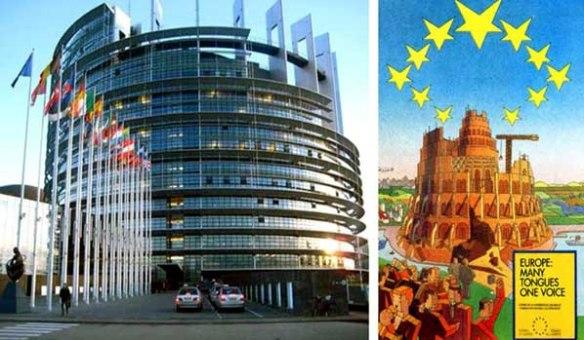 Torre babel parlamento UE2