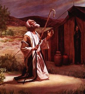 Abraham orando