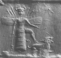 inanna-and-lion