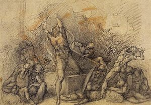 300px-michelangelo_buonarroti_-_resurrection_1520-25