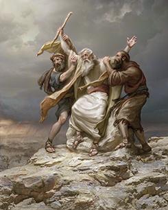 israel-vs-amalec